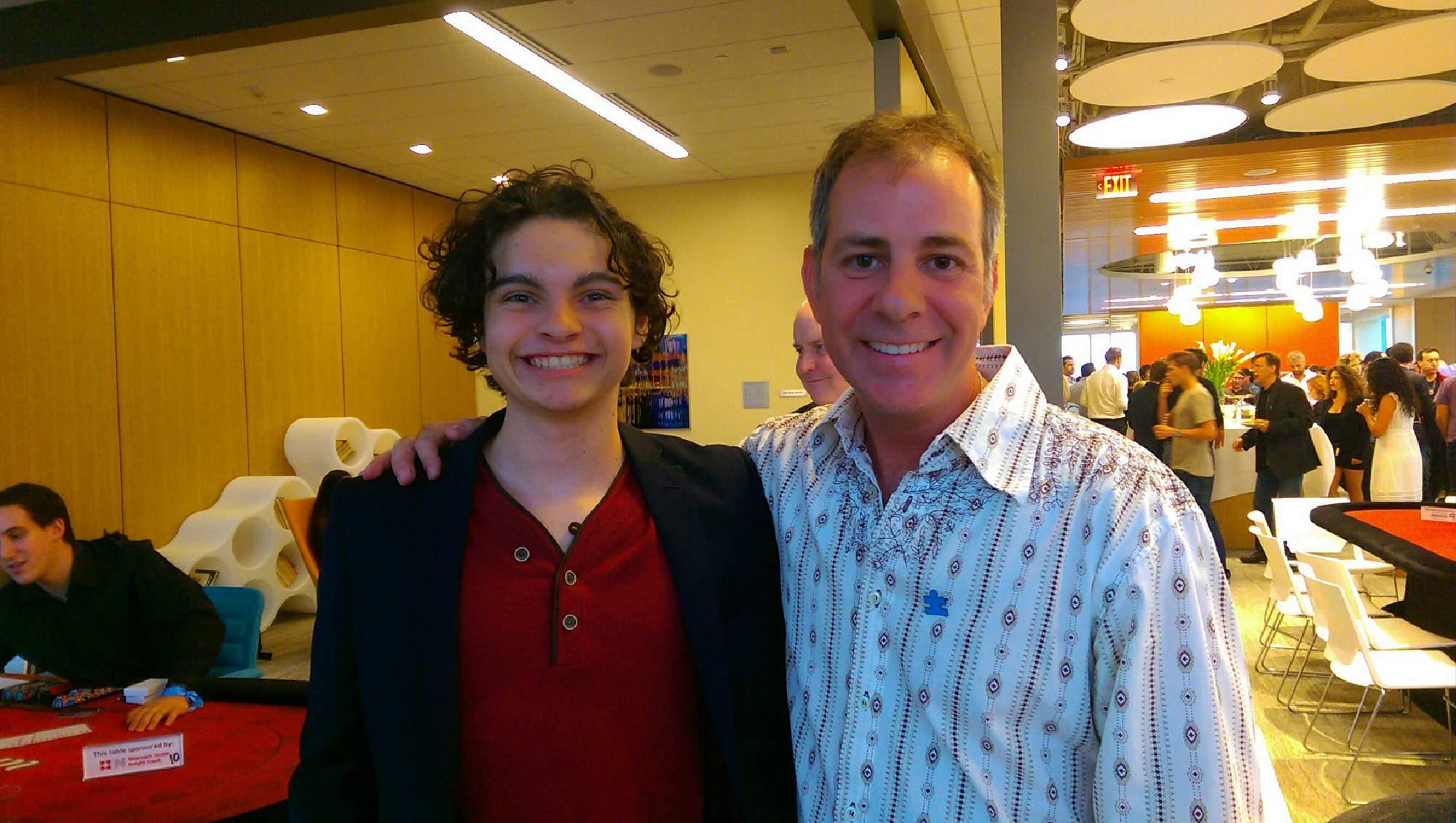 Max Burkholder and Philip Warbasse
